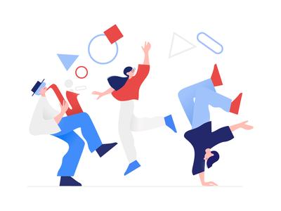 Clip Style: Success Illustration