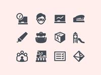 Windows Metro Education Icons