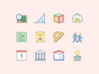 Office Education Icons