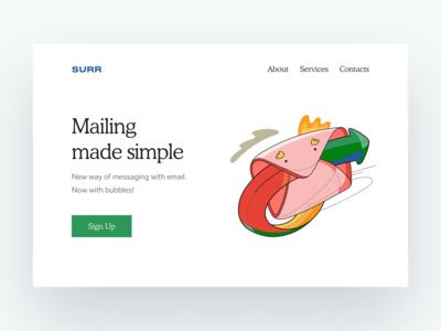 Surr Mailing Illustration