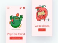 Surr Illustrations in UI