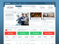 Investing - Stockbroking Dashboard