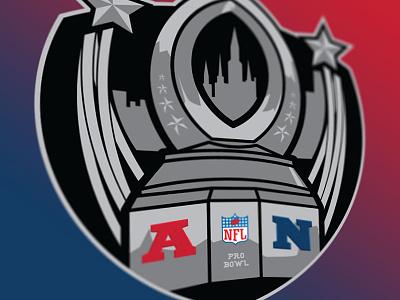 Probowl2017 bowl pro logo sports nfc afc afl nfl football