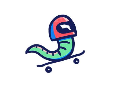 Sk8 worm