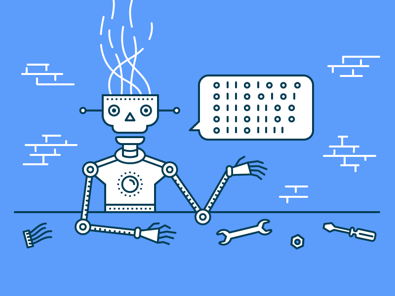 Building a chatbot tools workshop build code binary chatbot robot bot chat
