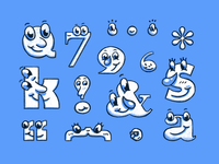 Type faces