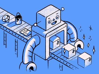 Deployment robot