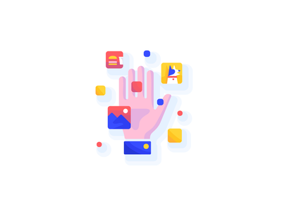 Own your memories (pt. 2) ui app ios onboarding illustration design icon storage photo personal data decentralized