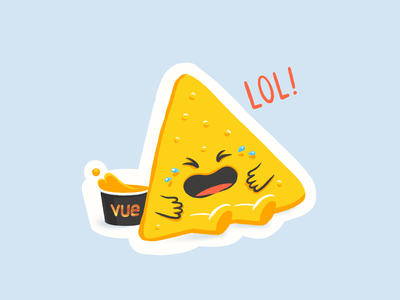 Lol Nacho art instagram gif movies nachos popcorn cinema cheese cheddar illustration design character nacho