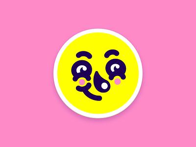 Avatar Coaster sticker stickermule playoff coaster badge character concept character design illustration avatar random face character
