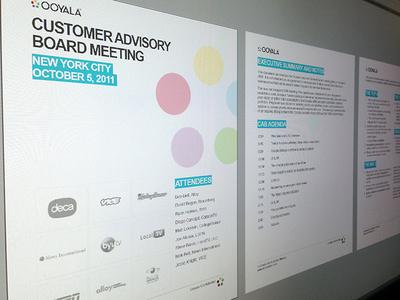 Ooyala Board Meeting Report (2011)