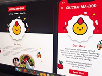Chicka-Ma-Boo Home and Mobile Page