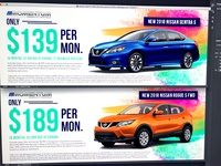 Spring Web Banners for Momentum Auto Group