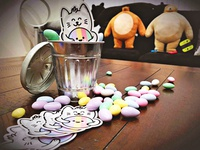 Cat & Candy Stickers