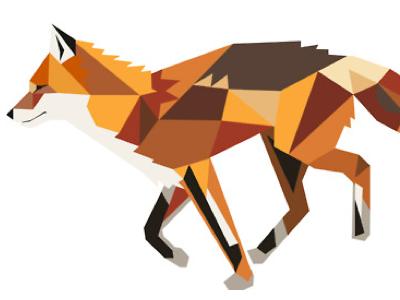 Fox fox illustration digital