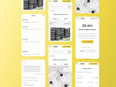 Tyron - web app, app, landing, logo vector illustration branding design uiux product design mobile app development tyron ux ui