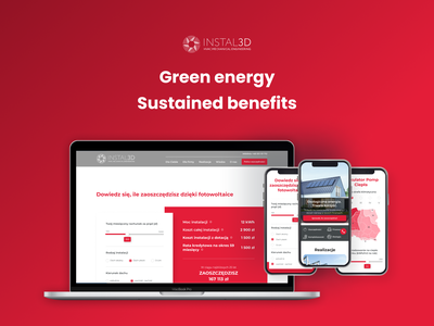 Instal3D - web & mobile landing page react wordpress graphic design uiux design branding development product design web