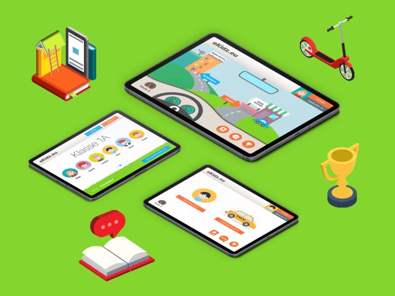 Educational app concept