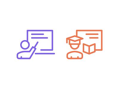 Icons for webinar app icons design icons ui design