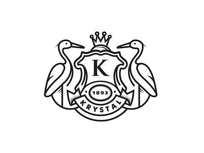 Krystal Identity identity logo branding