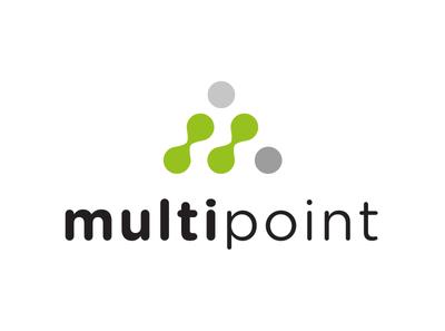 Multipoint logo identity design branding logo