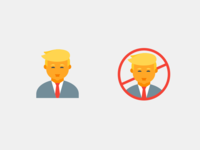 Anti-Trump Icon Becomes More Popular Than the Trump One