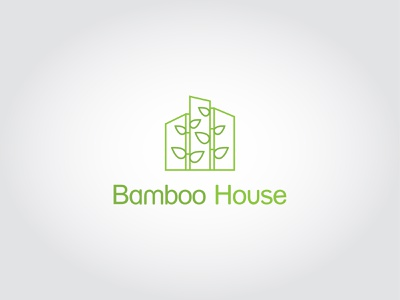 Bamboo House 3d motion graphics animation graphic design ux vector ui logo corporate design typography design minimal illustration branding