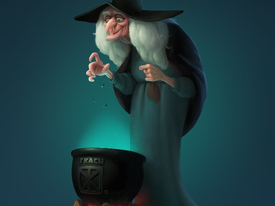 Witch. Personal Illustration illustration witch character