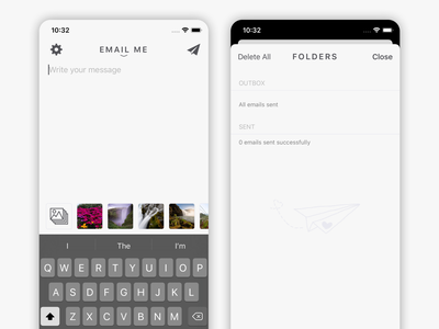 Quick Notes To Self - New Folders Screen