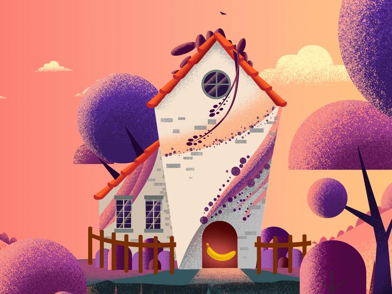 A website Illustration (WIP) ui animation vector illustration