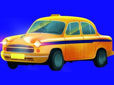 Taxi from Kolkata India