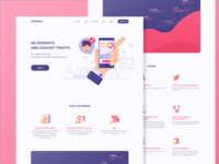 Landing Page For Torogrowth