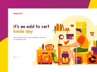 Illustration for ecommerce