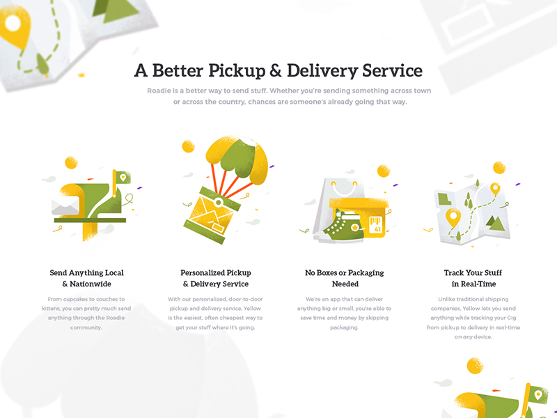 Delivery Icon delivery courier onboard service icon illustration homepage shipment send message
