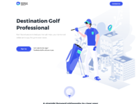Homepage mobile golf pro