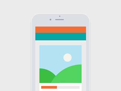 Wireframe crowdfunding product wireframe iphone 6 ios flat interface app interface
