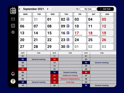 #DailyUI - Calendar - Daily UI 038 dailyui daily ui diseño uxui ui design ux design diseño ui diseño ux uxui ui diseñouxui diseñoui graphic design figma diseño gráfico diseño design