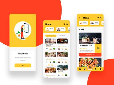 Restaurants Delivery App