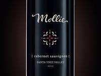 Mollie Wine Bottle