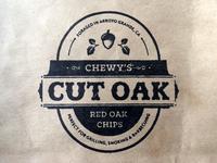 Chewy's Cut Oak Stamp