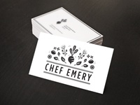 Chef Emery Business Card