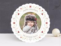 Petite Wreath Holiday Card