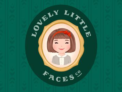 Lovely Little Faces Co. Logo