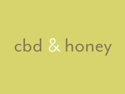 CBD & Honey Logo