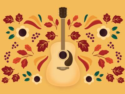 Fall Guitar Motif