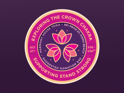 Crown Chakra Badge