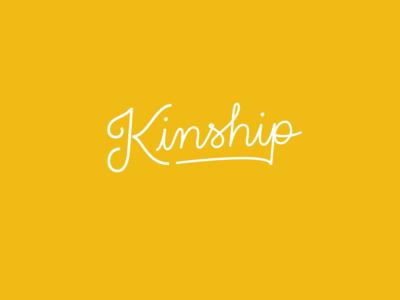 Kinship Script Logo
