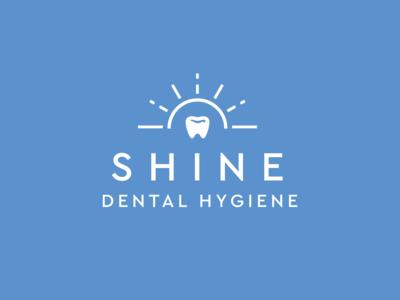 Shine Dental Hygiene Logo