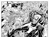 Elektra daredevil inked