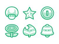 Mario Icons